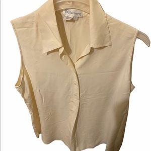 Burberry's silk blouse